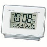 セイコ-電波デジタル目覚まし時計